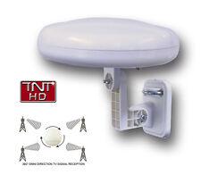Antenne omnidirectionnelle terrestre TNT HD - Réception 360 ° - Idéal en voyage
