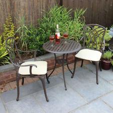 Set di tavoli e sedie da esterno in alluminio fino a 2