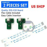 2X USB Charging Port Socket Board Controller JDS-030+12 Pin Cable for Sony PS4 A