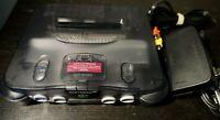 Nintendo 64 N64 Smoke Grey Console Only OEM NUS-001 Rare