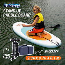 NEW BESTWAY Inflatable Stand Up Paddle Board Sup Kayak for Kids 2M 65085