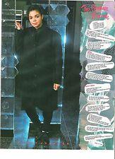 JANET JACKSON Pleasure Principle lyrics SH magazine PHOTO/clipping 11x8 inches