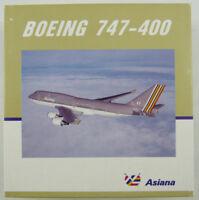 Boeing 747-400 Mega Top Asiana HL7421 Herpa 500661 1:500 in OVP [M1]