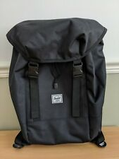 Herschel Supply Co Company Black Iona Backpack Rucksack Medium Sized Unisex