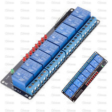 Eight 8 Channel 5v Relay Module Expansion Board Shield For Arduino Pic Avr Arm