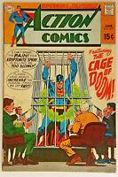 Action Comics #377 7.5 VF-Superman Neal Adams Cvr 1969 Silver Age DC Comics