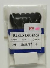 High Quality Squirrel, paint brushes, for watercolours and oil, 12 pack.