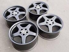 "17"" AMG black Mercedes OEM wheels C230 C SLK CLK CLK500 SLK230"