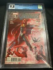 All New All Different Avengers 6 CGC 9.8 2nd Print 2016 Vision Variant 57 Homage