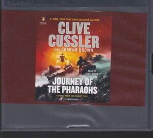 JOURNEY OF THE PHARAOHS by CLIVE CUSSLER ~UNABRIDGED CD AUDIOBOOK