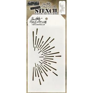 Tim Holtz Layering Stencil - BURST - Stampers Anonymous - THS116
