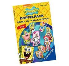 Ravensburger SpongeBob Doppelpack, 23419 Farbwürfelspiel NEU Double Jeu / Knizia