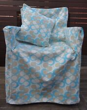 DIRECTORS CHAIR COVER WITH BONUS MATCHING CUSHION COVER GREAT PATTERN & QUALITY
