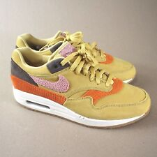 ae6db0c8303ee2 Nike Air Max 1 Crepe Sole Wheat Gold Rust Pink size 8.5 in hand