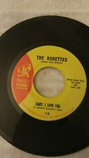 RONETTES - 45 - BABY I LOVE YOU - GIRL GROUP - SOUL - PHIL SPECTOR