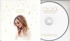 SARAH DARLING Halley's Comet 2016 UK 1-track promo CD