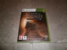 Jeu XBOX360 PAL Version Française: GAME OF THRONES  -Neuf sous Blister