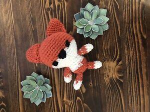 Hamdmade Crocheted Fox