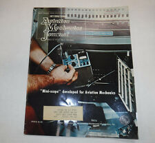 Aviation Mechanics Journal Magazine Mini-Scope March 1974 FAL FAA 110216R