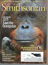 Smithsonian December 2010 Mission Orangutan/Searching for Buddha/Marvel Arch