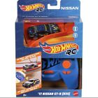 Hot Wheels RC NISSAN GT-R R35 1:64 Car + Remote + Track Builder System Adapter