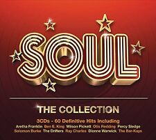 Soul - The Collection 3 Cds 60 definitive hits Aretha Franklin Ben E king +More