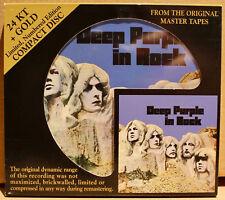 AUDIO FIDELITY GOLD CD AFZ-051: DEEP PURPLE In Rock - 2009 USA OOP #'d NM