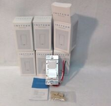 NEW 6 Insteon 2477D SwitchLinc Dimmer Switches, 600W - White - New In Box