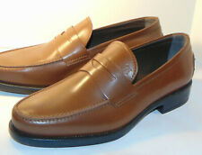 NEW TOD'S MEN'S DRIVING PENNY LOAFERS! BROWN! MADE IN ITALY! NO BOX/SIZE 6, US 7