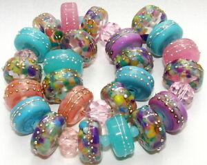 "Sistersbeads ""A-Imagination-Large"" Handmade Lampwork Beads"