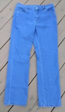 Basic Editions Blue Jeans Womens Size 6 (32x28.5) Cotton Blend with Spandex