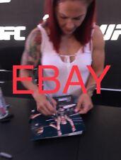 UFC Champ Cris Cyborg signed Photo Exact Proof! International Fight Week Rousey