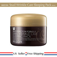 Mizon Snail Wrinkle Care Sleeping Pack 80ml + Free Sample [US Seller]