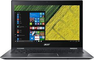 "Acer Spin 5 SP513-52N i5-8250U/8GB/256GB SSD/13.3"" Laptop Space Grey"