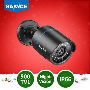 SANNCE Outdoor CCTV Camera 1pcs 900TVL IP66 Night Vision Security Camera UK Ship