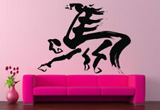 Wall Decal Room Sticker Horse Chinese calligraphy bedroom decor kitchen bo2997