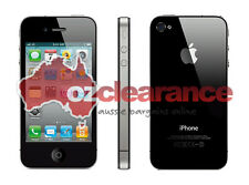 DEAD Apple iPhone 4S | 16GB Black | Clearance | LOCKED | Smashed LCD | For Parts