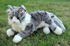 Maine Coon Katze, liegend 44 cm (Designerware)