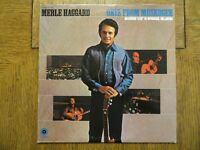 Merle Haggard & The Strangers - Okie From Muskogee 1969 Capitol ST-384 VG+/EX!!!