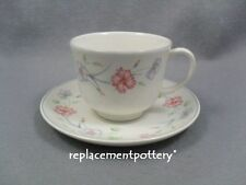 Boots Carnation Cups & Saucers x 4