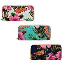 72890- Femmes Polyester Ella Porte-Monnaie Floral Conception- 3 Couleurs- Super