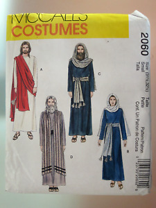 McCall's Pattern #2060 Christian Passion Easter Bible Costumes Size Small UNCUT