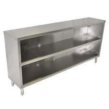 "John Boos Edsc8-1548 Open Base Dish Cabinet 48""W x 15""D x 35.5""H"