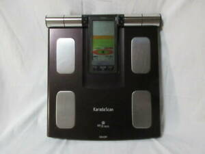 Omron KARADA Scan Body Composition Monitor Digital Scale HBF-373 HBF373 Black