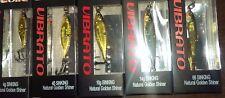 Sebile Vibrato 2 1/2in | 6cm 3/4 Oz Metal Jigs Nat Golden Shiner