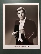 Marvin Hamlisch-signed photo - pose 9 - JSA coa
