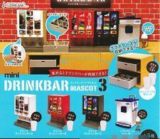 J Dream Toys Capsule Gashapon Drink Bar Part 3 Cafe Ice cream Full Set 5 pieces