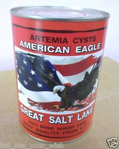 450 g Artemia Cysts Brine Shrimp Eggs American Eagle Great Salt Lake