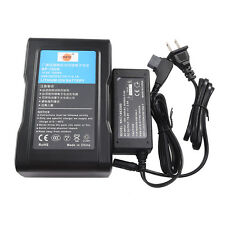 DSTE BP-150W V Mount Battery + Charger For Sony DSR-250P DSR-600P 650P HDW-800P