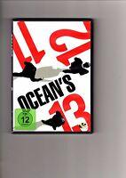 Ocean`s Trilogie 3 DVD`s - Ocean`s Eleven,Ocean`s Twelve,Ocean`s 13 / DVD